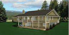 bungalow house plans with walkout basement ranch style bungalow with walkout basement a well laid