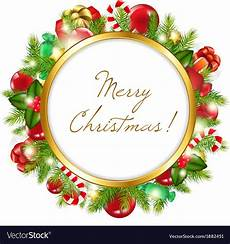 merry christmas picture frame merry christmas frame royalty free vector image