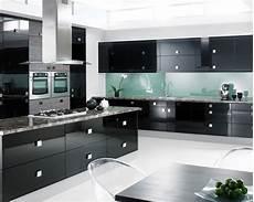 Black Kitchen - one color fits most black kitchen cabinets