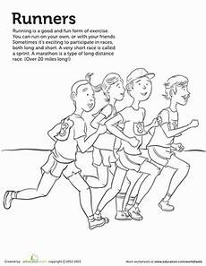 sports day coloring pages 17757 runner coloring page coloring pages preschool summer programs for