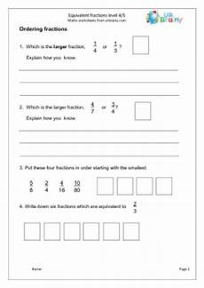 fraction worksheets ks2 sats 3992 ks2 sats level4 5 fractions and percentages urbrainy