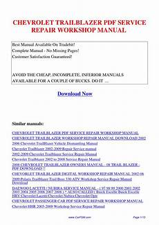 motor auto repair manual 2006 suzuki daewoo lacetti lane departure warning chevrolet trailblazer service repair workshop manual by hui zhang issuu
