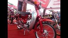Modifikasi C70 Simple by Kontes Honda Olong C70 Original Modif Harian