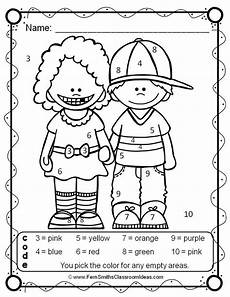create color by number worksheets 16101 color by numbers your numbers while new friends