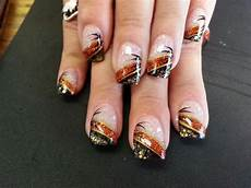 easy diy fall nail designs for short nails party wowzy