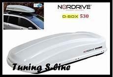offerte box auto portatutto box tetto portatutto nordrive d box 530 portabagagli
