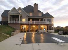 house plans with walkout basement and pool 2 story deck living area outdoor remodel