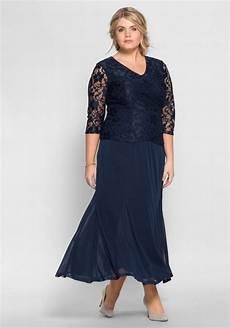sheego style abendkleid leicht transparent kaufen otto