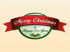 merry christmas label vector art graphics freevector com