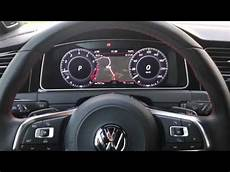 vw golf 7 facelift 2017 mit active info display