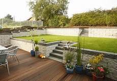 Gartengestaltung Hanglage Gabionen Suche