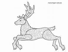 Malvorlagen Tiere Mosaik Malvorlage Tiermandala Hirsch Tiere Mandala Kostenlose