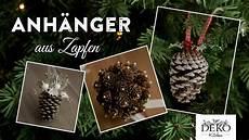 Weihnachtsdeko Basteln H 252 Bsche Deko Mit Zapfen How To