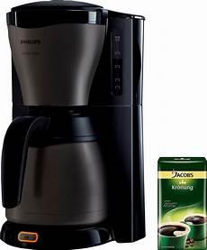 philips kaffeemaschine hd7547 80 gaia therm titanium mit