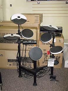 roland v drums td4kp roland v drums td 4kp portable electronic drum set reverb