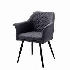 stuhl anthrazit armlehnen stuhl in anthrazit schwarz aus stoff metall