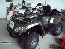 2012 arctic cat atv 700 diesel 4x4 compact tractor winch lof