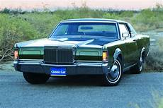 Year Make And Model 1969 71 Lincoln Continental M