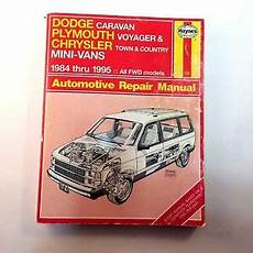 online auto repair manual 1998 plymouth grand voyager parking system haynes dodge caravan plymouth voyager town country repair manual 1231 84 95 ebay