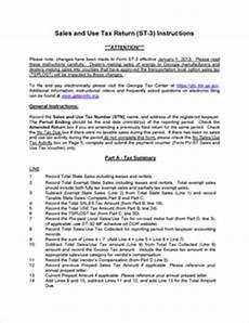 form st 3 fillable sales and use tax report form st 3 rev 10 12