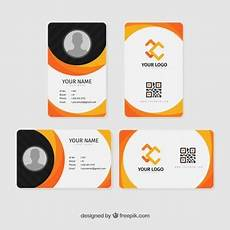 id card template gratis id vectors photos and psd files free