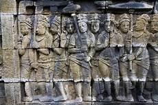 Candi Borobudur Wall Relief