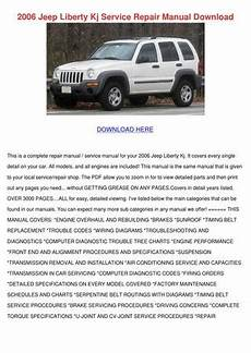 car repair manuals online pdf 2009 jeep liberty engine control 2006 jeep liberty kj service repair manual do by tamsmalley issuu