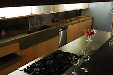 Kitchen Countertops In Ny by Concrete Kitchen Countertops With Integrated Sink Modern
