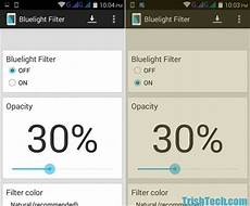 android filters protect from blue light with bluelight filter for android