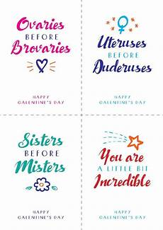 s day printable ideas 20564 free galentine s day printable postcards notes alternative as celebrated by lesle
