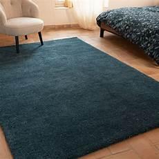 tapis bleu canard mouchet 233 200x290cm stessy 200x290 cm