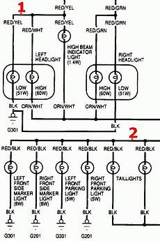 2001 honda accord headlight wiring diagram fuse box and wiring diagram