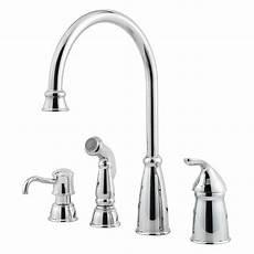 pfister avalon single handle deck mounted kitchen faucet