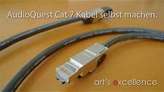 audioquest cat 7 kabel selbst machen mit teleg 228 rtner