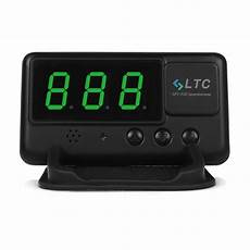 2017 Ltc Car Hud Up Gps Speedometer Overspeed Tired
