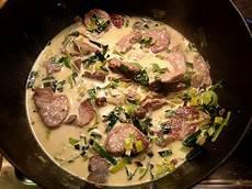 Gerichte Mit Schweinefilet - schweinefilet mit maronen und porree in sahneso 223 e rezept
