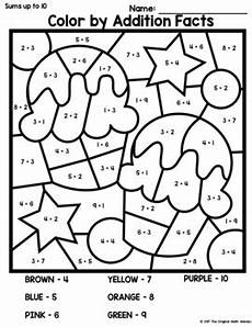 birthday color by number worksheet 16090 birthday color by addition facts sums up to 10 15 20 tpt