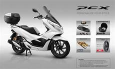 Variasi Motor Pcx by Aksesoris Resmi Honda Pcx 150 Honda Genunine Parts