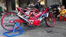 Motor Sonic Modifikasi by 44 Foto Gambar Modifikasi Honda Sonic Drag Bike Thailand