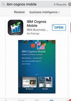 cognos mobile business analytics anywhere ibm cognos mobile ironside