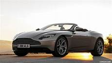 2018 aston martin db11 volante v8 color pearl blonde front three quarter hd wallpaper 290