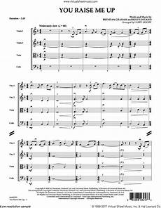 groban you raise me up sheet music complete collection for string quartet strings