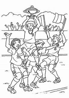 coloriage football victoire sur hugolescargot
