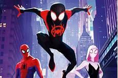 international spider into the spider verse poster