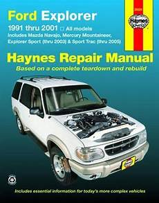 auto air conditioning repair 1991 mazda navajo head up display ford explorer mazda navajo mercury mountaineer haynes repair manual 1991 2005 hay36024