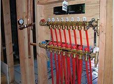 Manifold setup   Radiant Floor Heating & Cooling