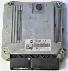 vw eos 2 0 tfsi engine unit ecu 1q0907115f ebay