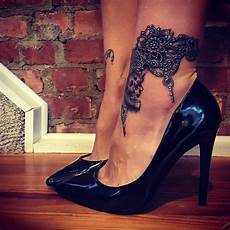 115 best ankle bracelet tattoo designs meanings 2019