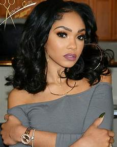 Mid Length Hairstyles For Black