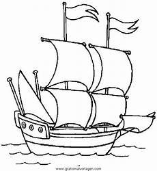 Ausmalbilder Zum Ausdrucken Kostenlos Boote Gratis Malvorlage Boote 09 In Boote Transportmittel Zum